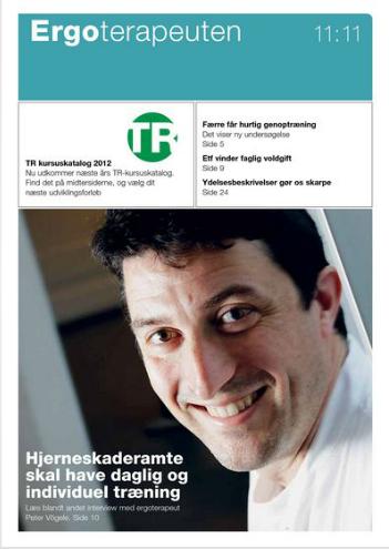 Artikler i Ergoterapeuten november 2011
